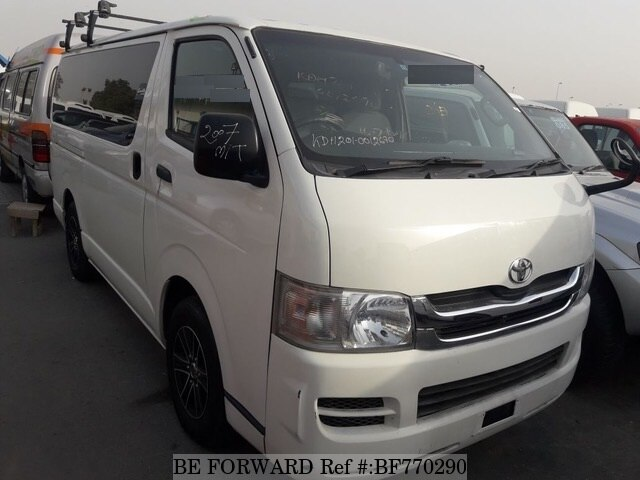 Used 2007 Toyota Hiace Van For Sale Bf770290 Be Forward