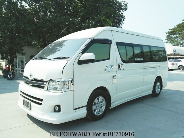 5ee50897bfa13d Used 2012 TOYOTA HIACE VAN KDH222R-LEHDYT for Sale BF770916 - BE FORWARD