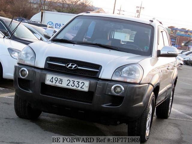 Used 2007 HYUNDAI TUCSON BF771969 For Sale