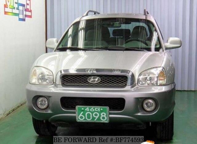 Used 2005 Hyundai Santa Fe Bf774593 For