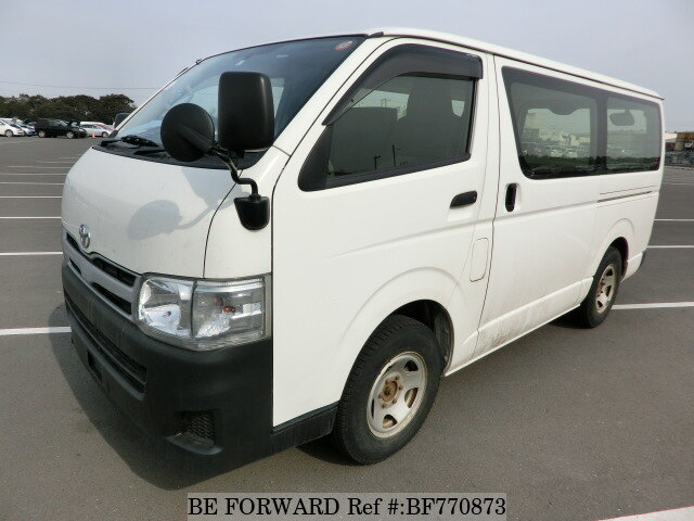8785160398 Used 2013 TOYOTA HIACE VAN DX LDF-KDH206V for Sale BF770873 - BE FORWARD
