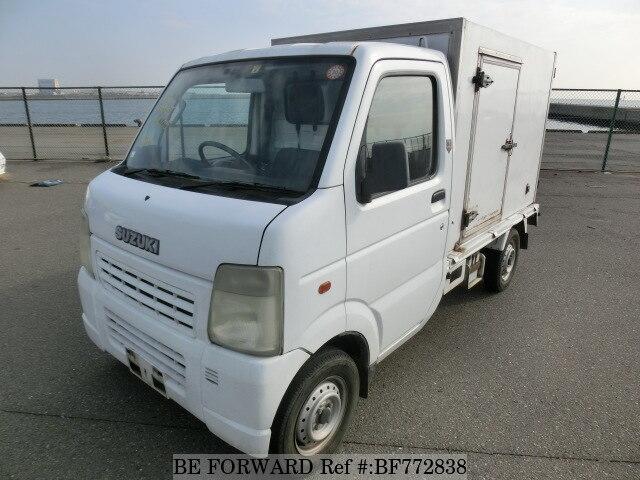Used 2002 SUZUKI CARRY TRUCK BF772838 for Sale