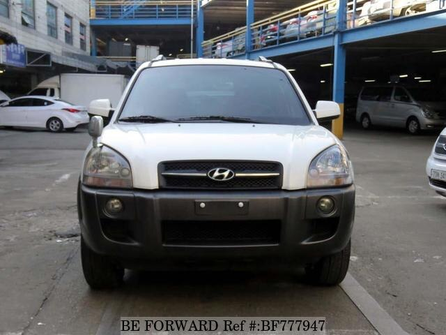 Used 2007 HYUNDAI TUCSON BF777947 For Sale