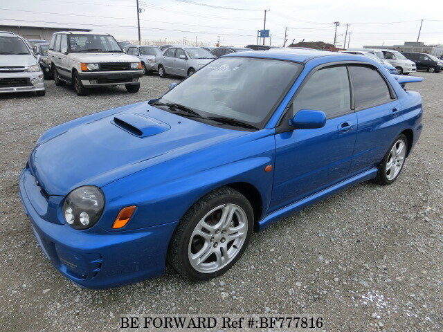 Used 2002 SUBARU IMPREZA WRX WRX NB-R/TA-GDA for Sale BF777816 - BE