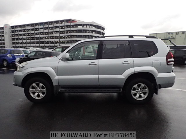 Used 2003 Toyota Land Cruiser Prado Tx Ta Vzj120w For Sale