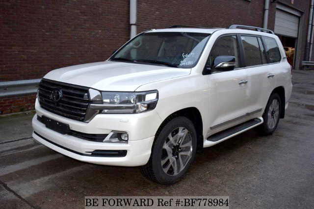 Used 2018 Toyota Land Cruiser For Sale Bf778984 Be Forward