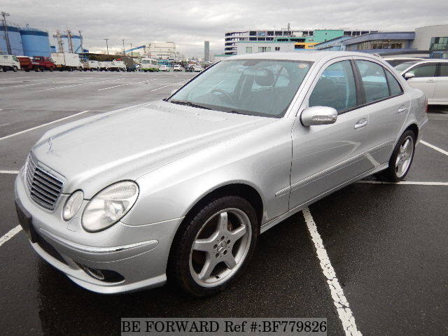 Used 2005 Mercedes Benz E Class E500 Avantgarde Sports Package Gh 211070 For Sale Bf779826 Be Forward