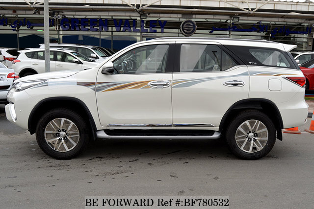 Used 2018 TOYOTA FORTUNER for Sale BF780532 - BE FORWARD