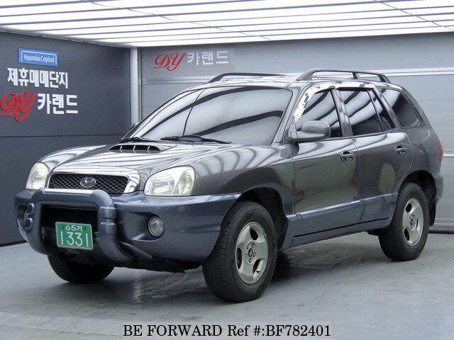 About This 2002 HYUNDAI Santa Fe (Price:$3,068)