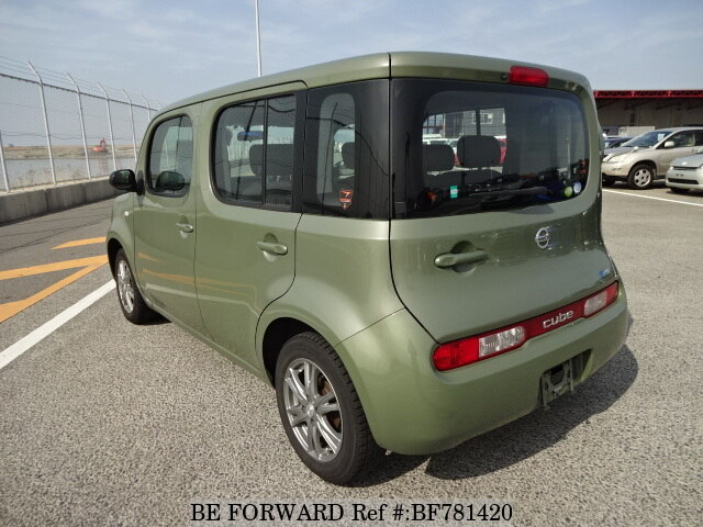 used 2010 nissan cube 15s dba z12 for sale bf781420 be forward. Black Bedroom Furniture Sets. Home Design Ideas