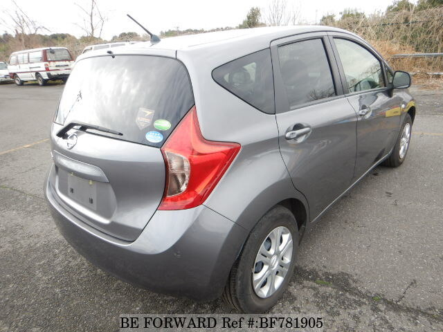 used 2014 nissan note x dba e12 for sale bf781905 be forward. Black Bedroom Furniture Sets. Home Design Ideas