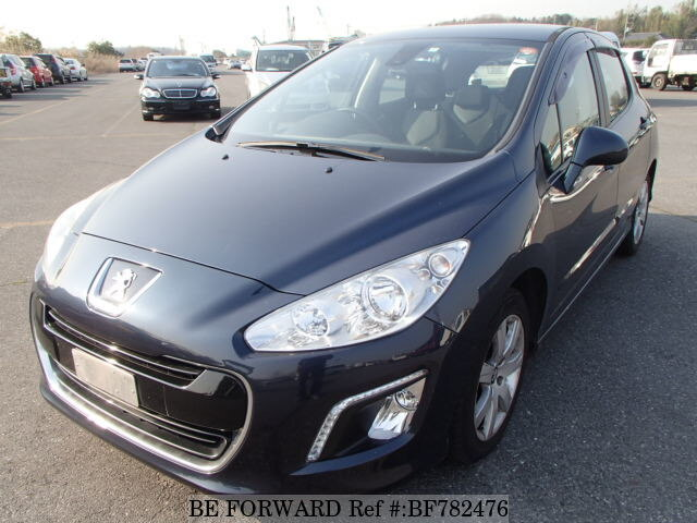 Used 2012 PEUGEOT 308 PREMIUM/ABA-T75F02 for Sale BF782476 - BE FORWARD