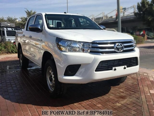 Used 2018 Toyota Hilux For Sale Bf784016 Be Forward