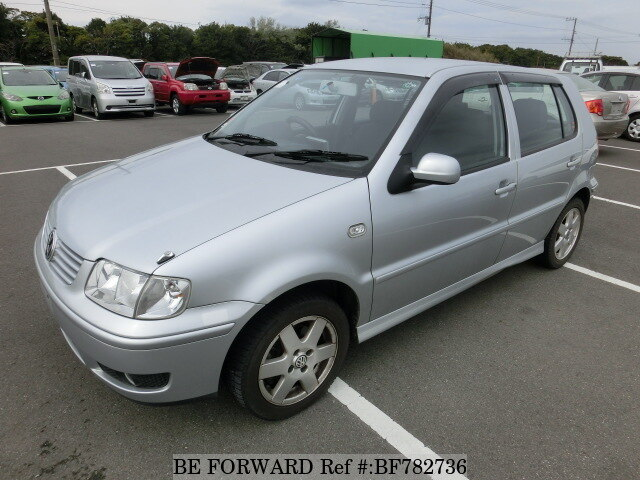 Used 2001 VOLKSWAGEN POLO/GF-6NAHW for Sale BF782736 - BE FORWARD
