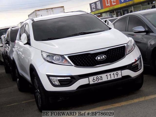 Used 2014 KIA SPORTAGE BF786029 For Sale