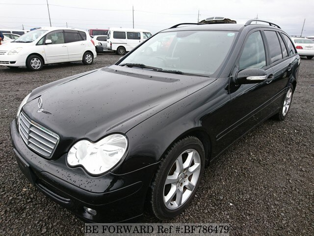 Used 2005 Mercedes Benz C Class C180 Kompressor Station Wagon Gh 203246 For Sale Bf786479 Be Forward