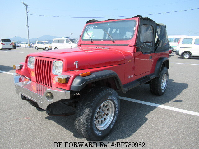 Used 1994 JEEP WRANGLER/E-SYMX for Sale BF789982 - BE FORWARD