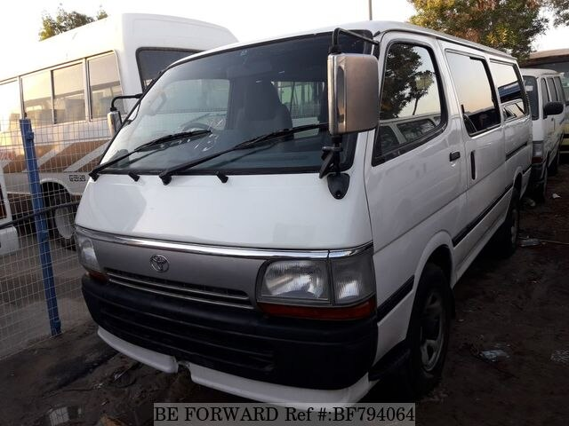 083f71e10d Used 1996 TOYOTA HIACE VAN for Sale BF794064 - BE FORWARD