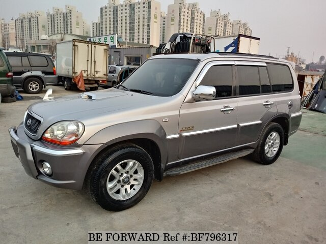 Used 2002 Hyundai Terracan Bf796317 For