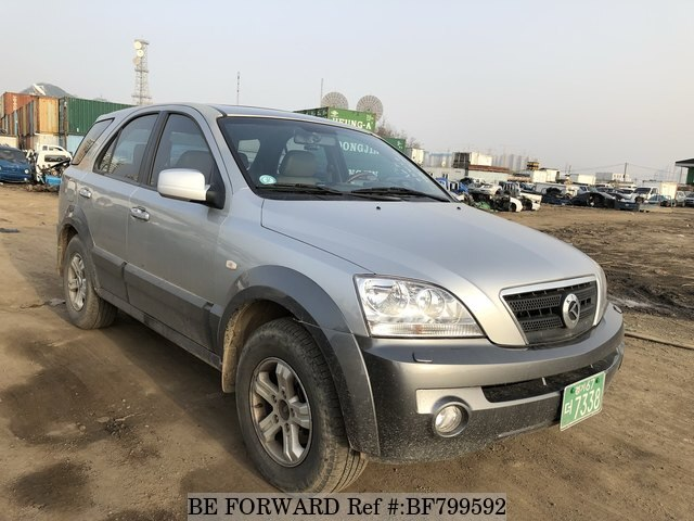 Bf D A on 2002 Kia Sorento Used Engine