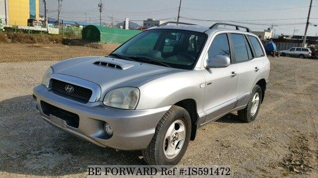 Used 2002 HYUNDAI SANTA FE IS591472 For Sale