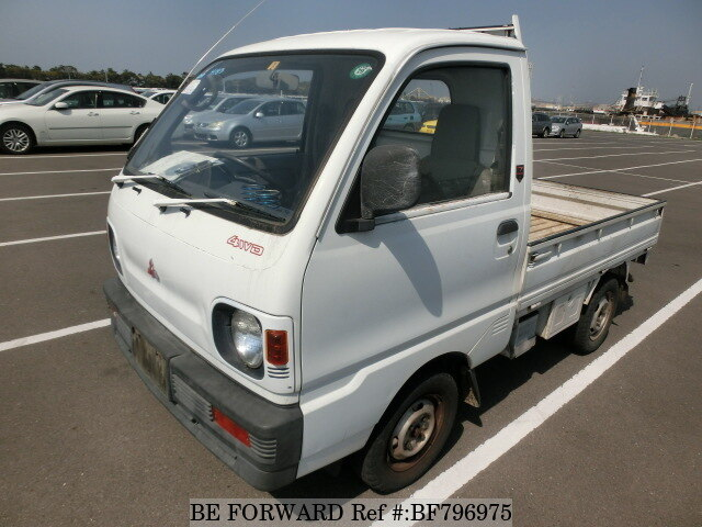 used 1992 mitsubishi minicab truck v u42t for sale bf796975 be forward rh sp beforward jp Mitsubishi U42T Parts Mitsubishi 3G83 Engine