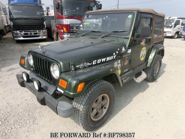 Used 1999 JEEP WRANGLER BF798357 For Sale
