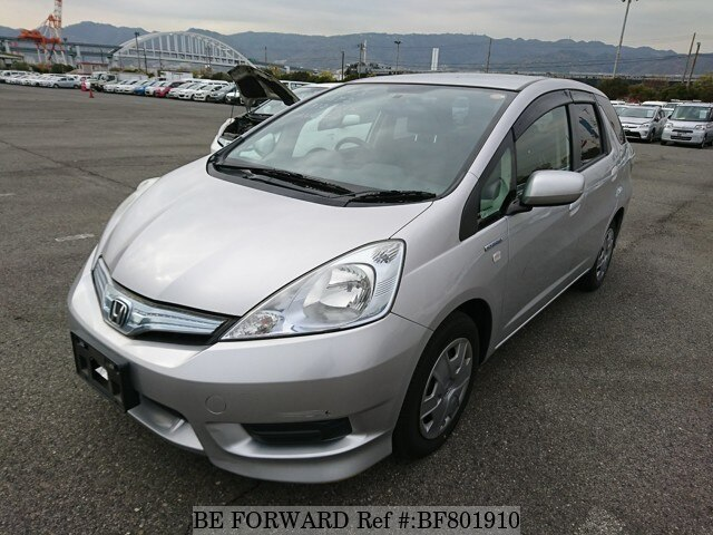 About This 2013 HONDA Fit Shuttle Hybrid (Price:$2,404)