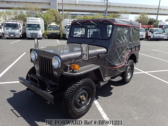 Used 1973 Mitsubishi Jeep J52 For Sale Bf801221 Be Forward