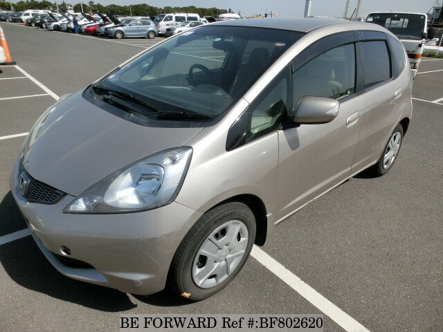 Used 2010 HONDA FIT X DBA GE8 For Sale BF802620