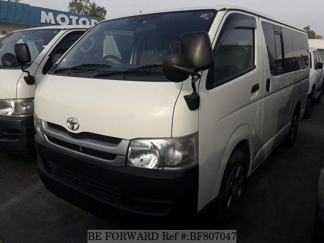 687eea80a8 Used 2010 TOYOTA HIACE VAN for Sale BF807047 - BE FORWARD