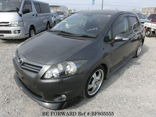 Used 2010 Toyota Auris Rsdba Zre152h For Sale Bf805555 Be Forward