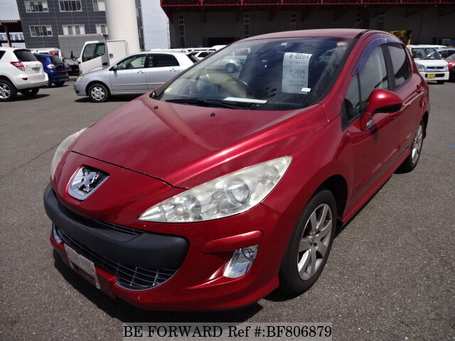 Used 2010 PEUGEOT 308 PREMIUM/ABA-T75FT for Sale BF806879 - BE FORWARD