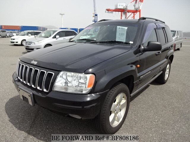 Used 2003 JEEP GRAND CHEROKEE BF808186 for Sale