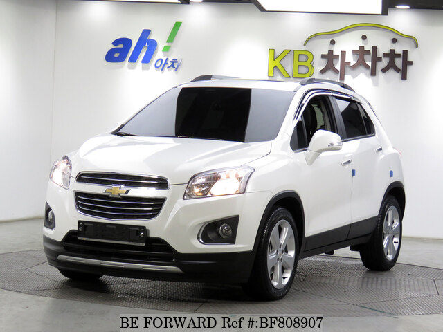 Used 2016 Chevrolet Traxpremium For Sale Bf808907 Be Forward