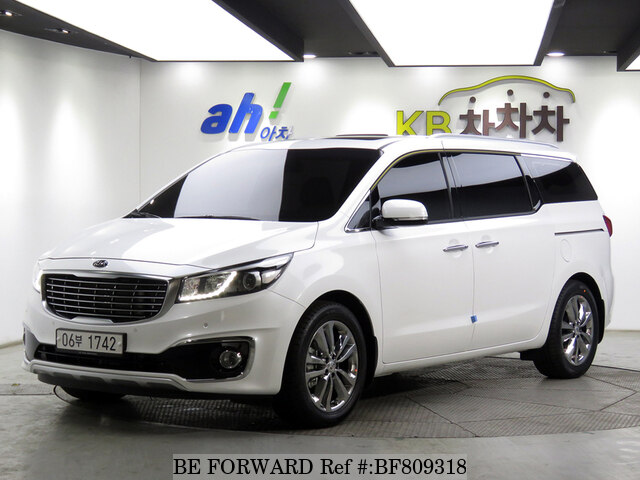 Used 2018 Kia Carnival Limousine For Sale Bf809318 Be Forward