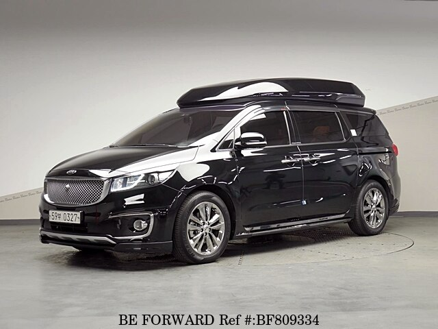 Used 2017 Kia Carnival Limousine For Sale Bf809334 Be Forward