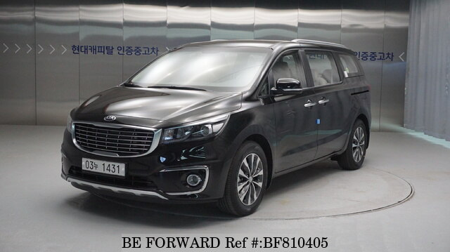 Used 2018 Kia Carnival Luxury For Sale Bf810405 Be Forward