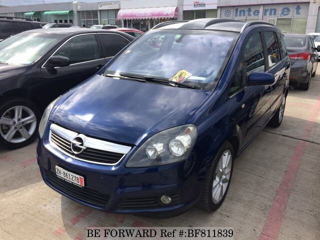 Used 2006 Opel Zafira For Sale Bf811839 Be Forward