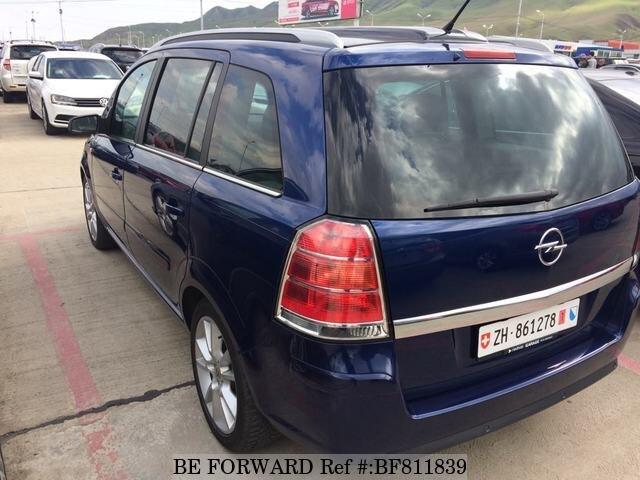 Used 2006 Opel Zafira For Sale Bf811839 Be Forward