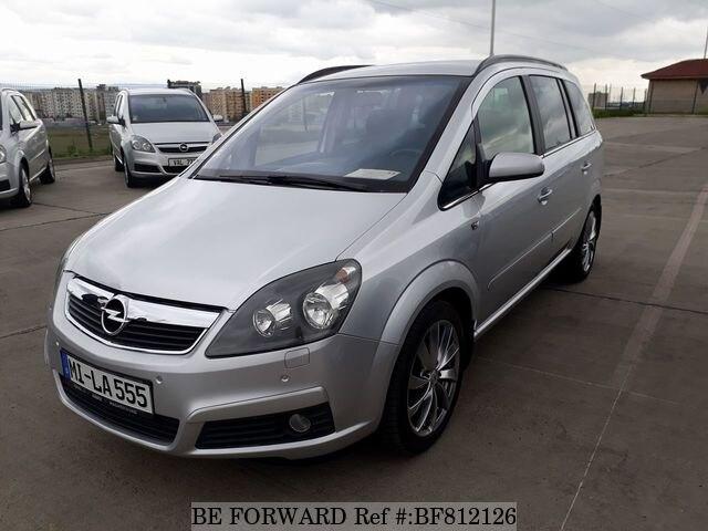 Used 2005 Opel Zafira For Sale Bf812126 Be Forward