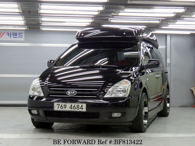 Used 2007 Kia Grand Carnival Gx For Sale Bf813422 Be Forward