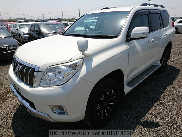 Used 2012 TOYOTA LAND CRUISER PRADO BF814030 For Sale