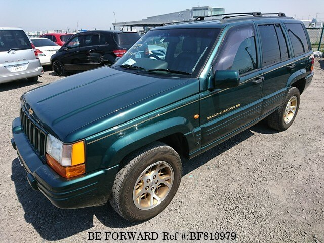 Used 1996 JEEP GRAND CHEROKEE BF813979 For Sale