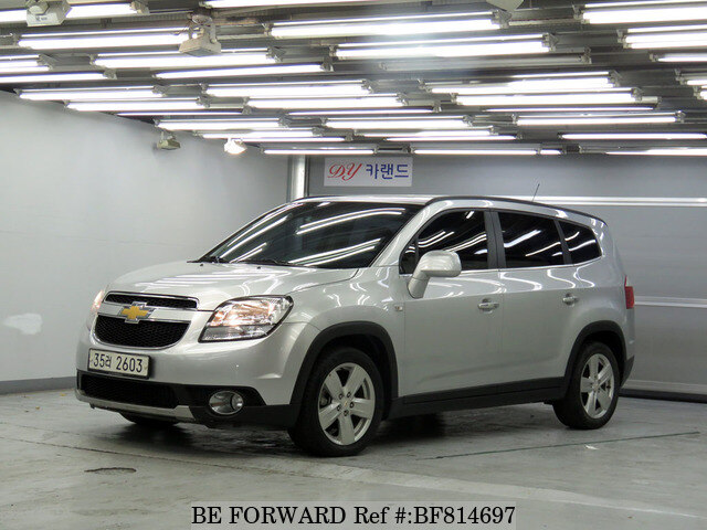 Used 2013 Chevrolet Orlandoltz For Sale Bf814697 Be Forward