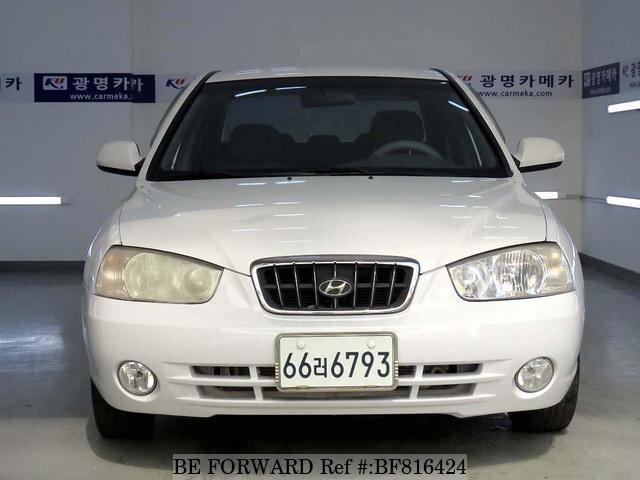 Used 2001 Hyundai Avante Elantra For Sale Bf816424 Be Forward