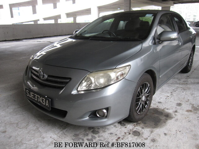 2008 Toyota Corolla For Sale >> Used 2008 Toyota Corolla Altis For Sale Bf817008 Be Forward