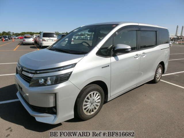 Used 2015 Toyota Voxy Hybrid X Daa Zwr80g For Sale Bf816682 Be Forward