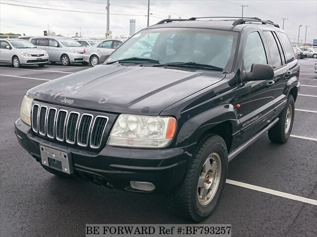 Used 2001 JEEP GRAND CHEROKEE BF793257 for Sale