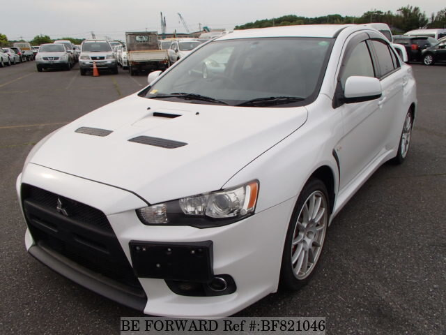 Used 2007 MITSUBISHI LANCER EVOLUTION X BF821046 For Sale